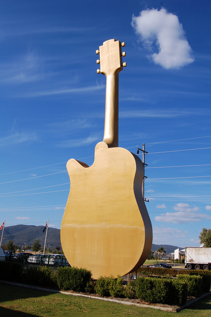 Big Golden Guitar