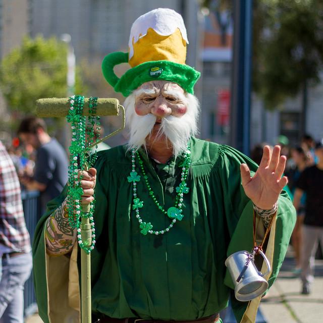 St. Patricks Day Parade SF 2014: the monolayers were astonishing