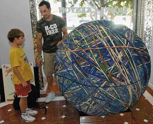 lagest rubber band ball in Maryland | by jamesonbennett