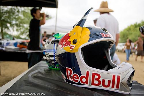 James Stewart's daytona crash helmet