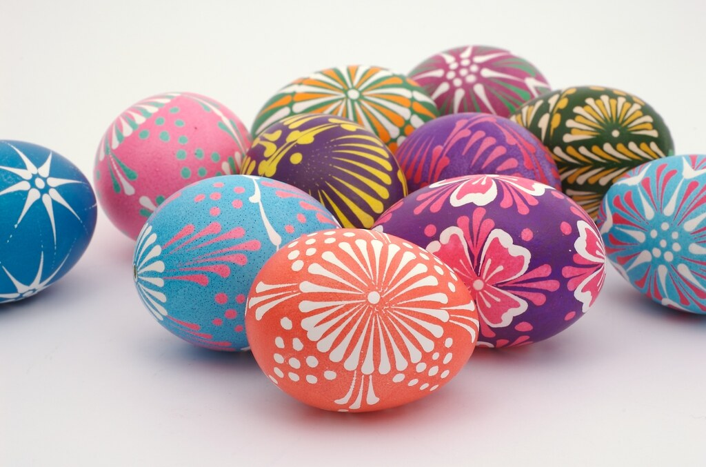 Polish Easter Eggs Traditional Dyed Polish Easter Eggs Pi Flickr
