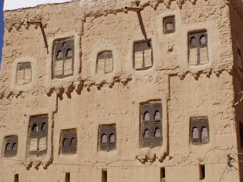 Vernacular architecture in Wadi Dawan