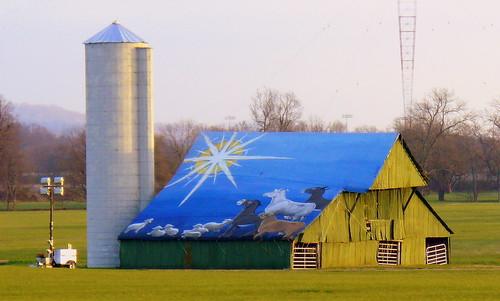 christmas barn star mural tn tennessee silo brentwood us31 williamsoncounty brentandmarilynnpersonalfavorite calturner tn6 bmok thingsthatarenowgone bmokotherbarn