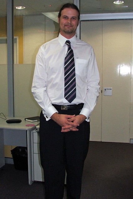 Flight Centre Uniform | This is me just after I received and