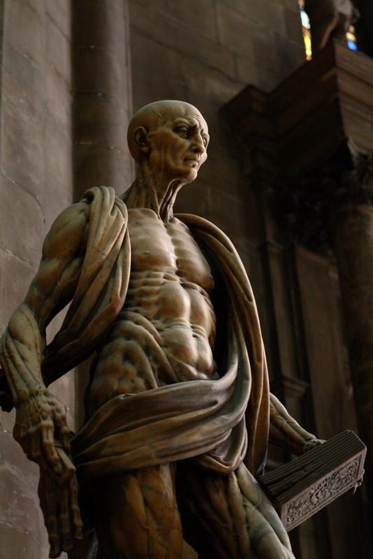 Statue In Duomo