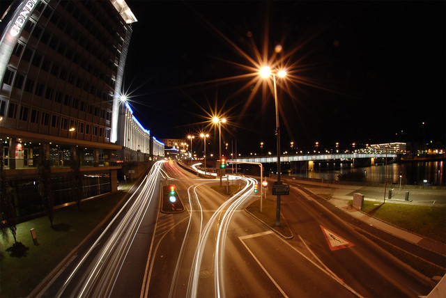 linz, night fisheye