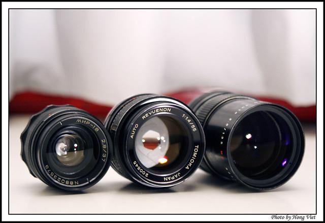 3 lenses M42