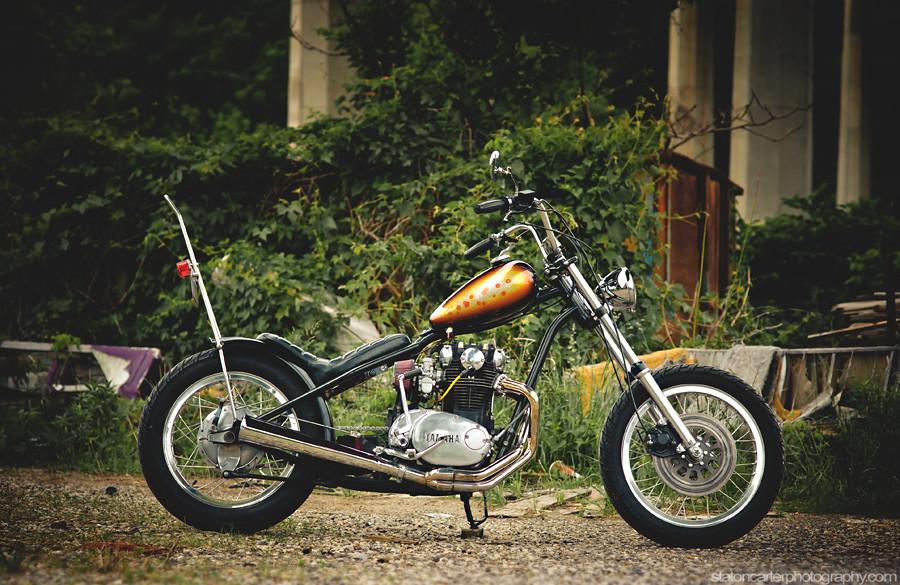 Yamaha XS650 Chopper {Hugh's HandBuilt} | {st8ton} | Flickr