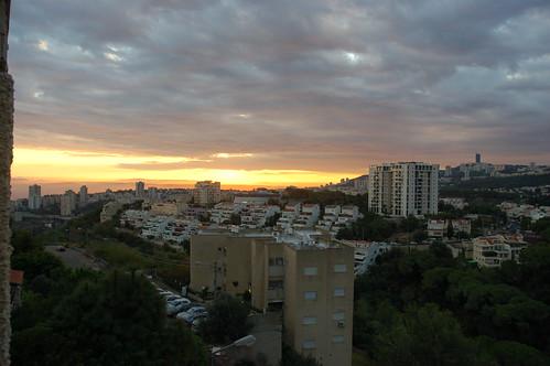 sunrise dawn israel carmel haifa ישראל חיפה כרמל naamatstreet רחובנעמת naamatst david55king