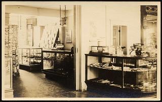 Hot Lake Sanatorium Gift Shop, 1922