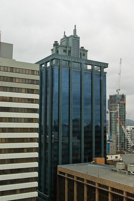 View from City Hall Clock Tower, Brisbane - Batman Building