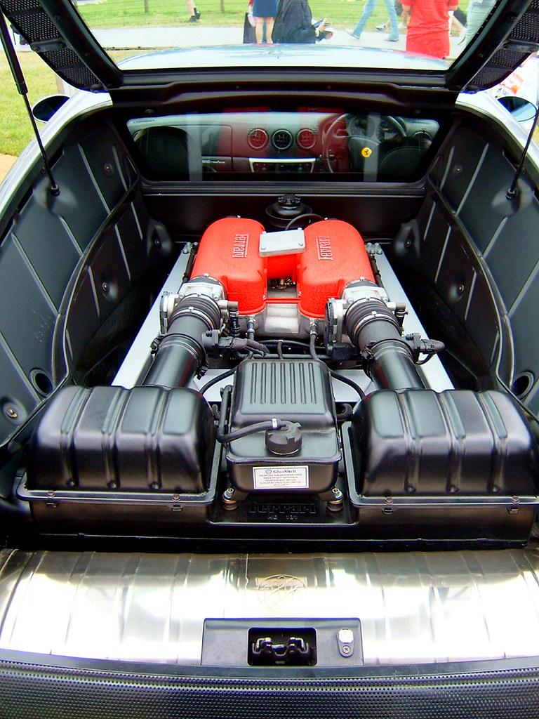 Ferrari 360 Engine Goodwood Festival Of Speed 2005 Marc Sayce Flickr