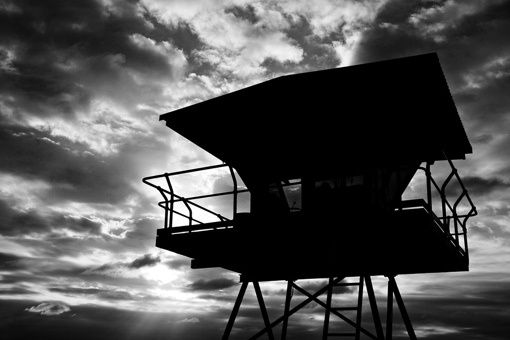 Image: All Along the Watchtower (B&W)