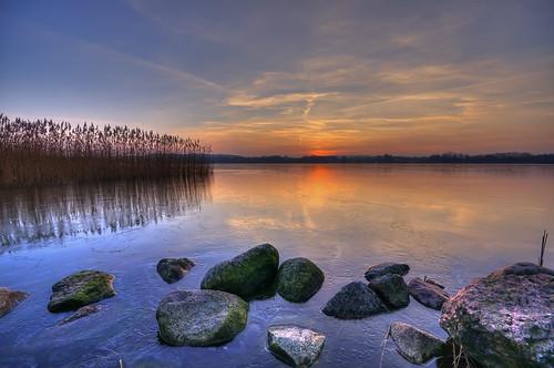 sonnenuntergang sunset see lake eis ice hemmelsdorfersee lakehemmelsdorf grammersdorf schleswigholstein deutschland germany pentax k5 sigma1020 matthias körner mattkoerner1 mk|photography