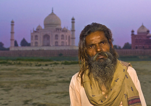 Alone at the Taj | by Trey Ratcliff