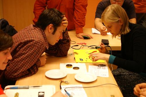 soldering workshop III
