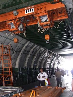Antonov AN-124 Interior