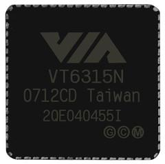 VIA VT6315N PCI-E Host Controller Chip Image