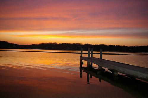pink sunset orange lake dock skies purple sunsets sunrises skys boatdock applevalley ruralohio perfectskies perfectsunsetssunrisesandskys perfectsunsets perfectsunrises perfectskys
