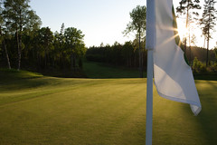 Vidbyäs Golf Club Hole 2 AXA Course Green | by Vidbynäs Golf Club