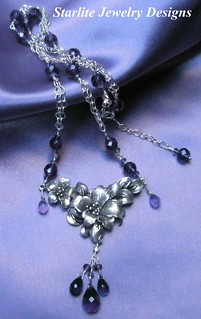 Starlite Jewelry Designs - Briolette Necklace - Jewelry Design | by Naomi King