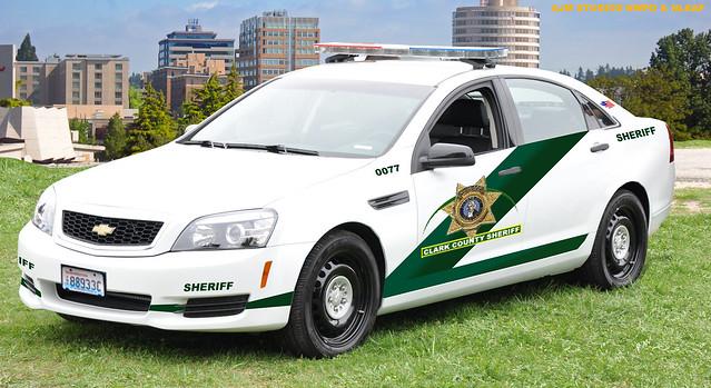 Clark County Sheriff, Washington Caprice PPV (AJM NWPD/NLEAF)