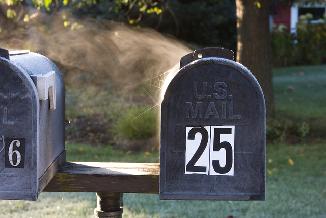 Steaming Mailbox