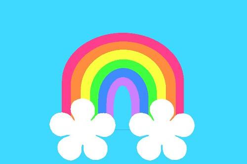 Flower Rainbow | by AmieKubitza Flower Rainbow | by AmieKubitza
