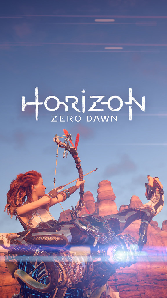 horizon zero dawn mobile wallpaper