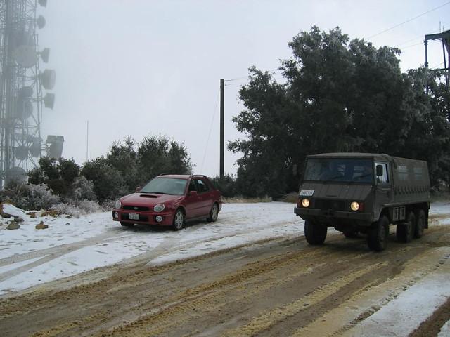 2006 Subaru SaddleBack Mountain Trip in the snow!