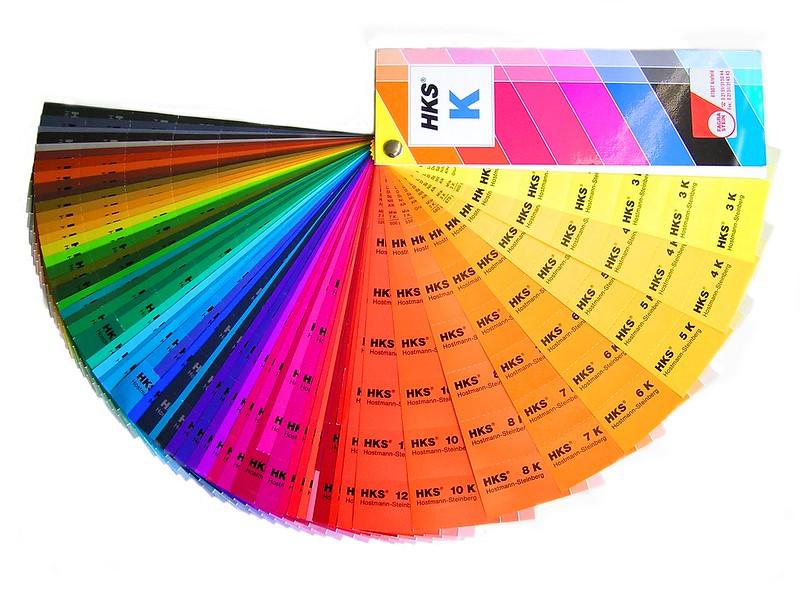 HKS color fan