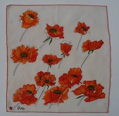 vera poppys napkin