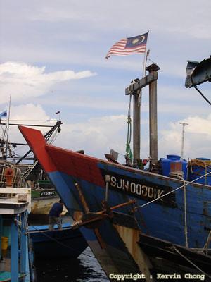 Flag-boat