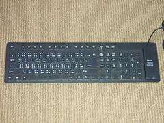高登電脳中心で買った香港製PCキーボード(ビニール)