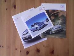 Toyota brochures