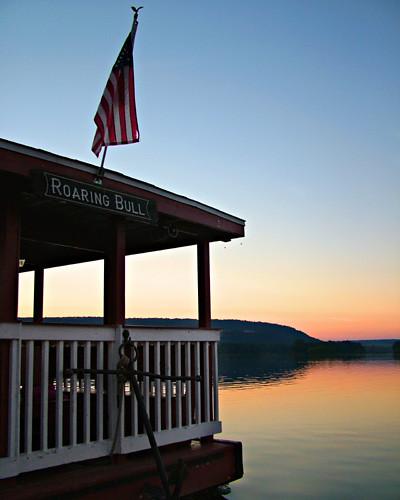 millersburg pennsylvania ferry millersburgferry picnic boat water susquehanna river susquehannariver ferryboatpicnic roaringbull sunset silhouette