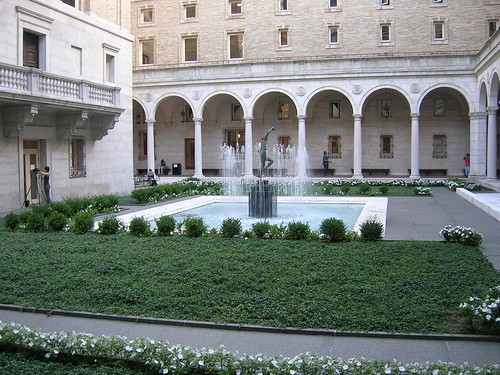 Boston Public Library Courtyard | by spi516