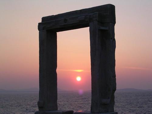 Apollo Door - Naxos Greece