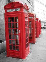 Telephone Boxes   by malias