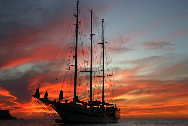 Yankee Clipper Sunset