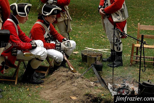 British Soldiers, ca 1776