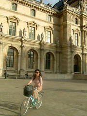 biking around the louvre grounds 1 | by myturtleneck