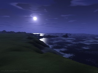 moonlit shores | by R. S.