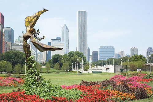 Chicago Angel in Summer | by SeanSantry