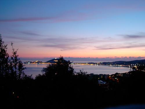 Sunset on Gaeta2