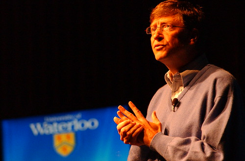 Bill Gates @ the University of Waterloo | by batmoo