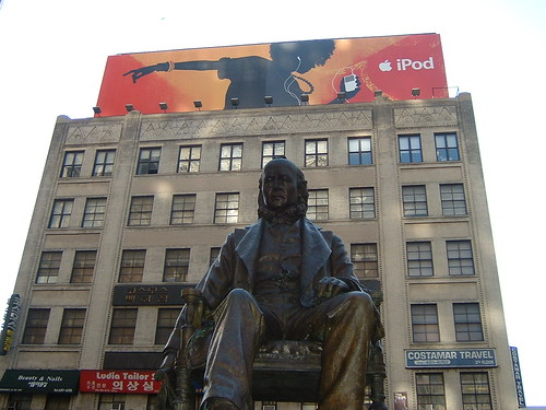 Horace Greeley and iPod: old and new media | by Joe in MV