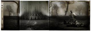 Le campement du cirque