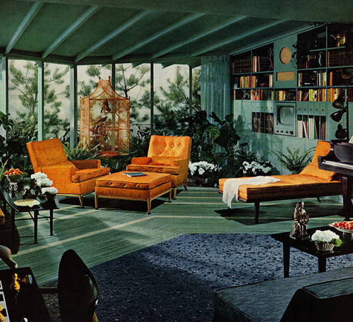 Mid-Century Living Room | by Adorevintage