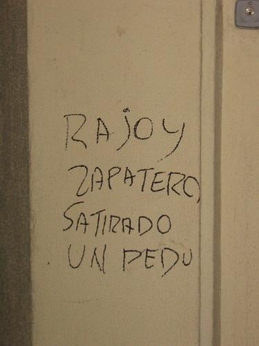 Rajoy, Zapatero sa tirado un pedo   by sporras